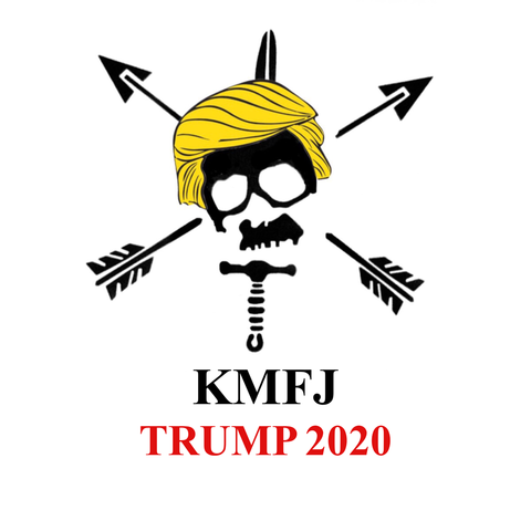 KMFJ TRUMP 2020 Sticker