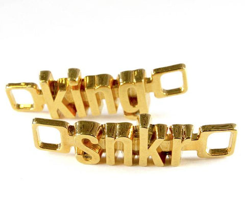 18K-Gold Plated U-Locks - snkr/king