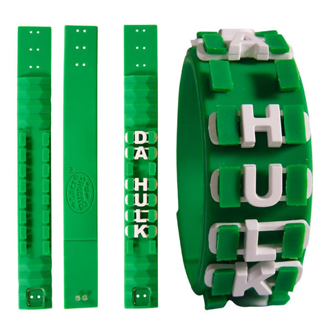 Lace Buddies: Bracelet - HONEYCOMB - Green