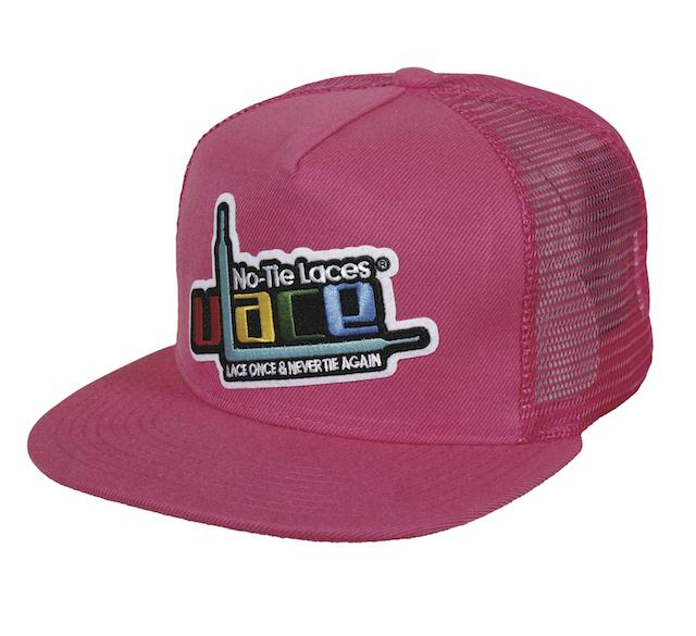 Woven Patch Logo Snapback - Hot Pink