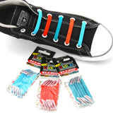 U-Lace Classic Ocean Teal, Sky Blue, Brick Orange 3-Pack Combo
