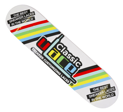 Stripes Logo U-LACE Skateboard Deck
