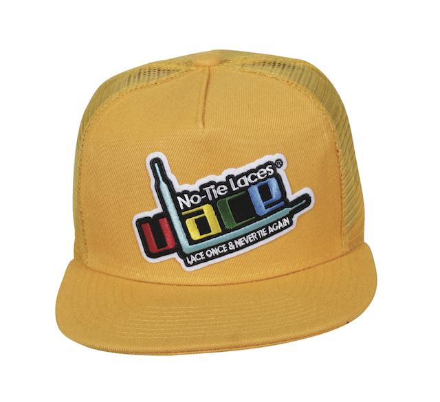 Woven Patch Logo Snapback - Yellow