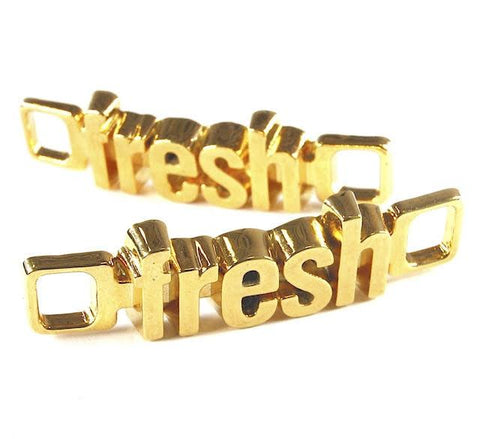 18K-Gold Plated U-Locks - fresh/fresh