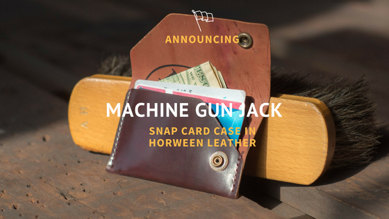 New Model - Machine Gun Jack - Snap Card Case
