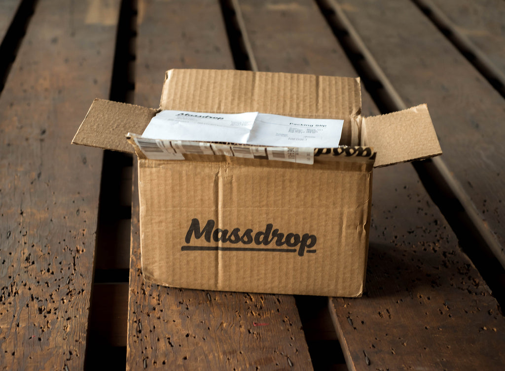 What's in the Massdrop gift box?
