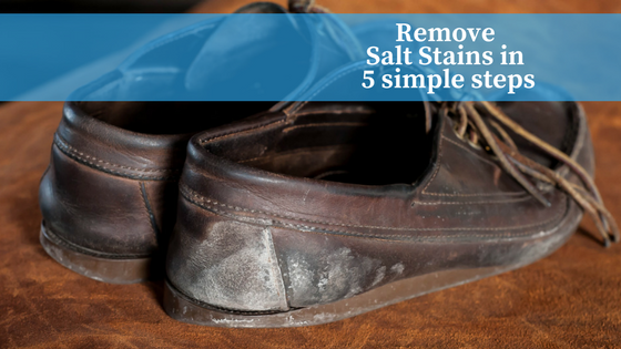 How to remove salt stains for your boots