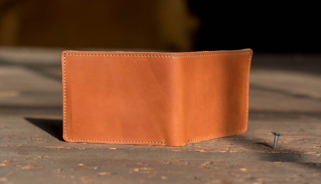 New Horween Shell Cordovan Color Amaretto Ashland Leather Johnny the Fox