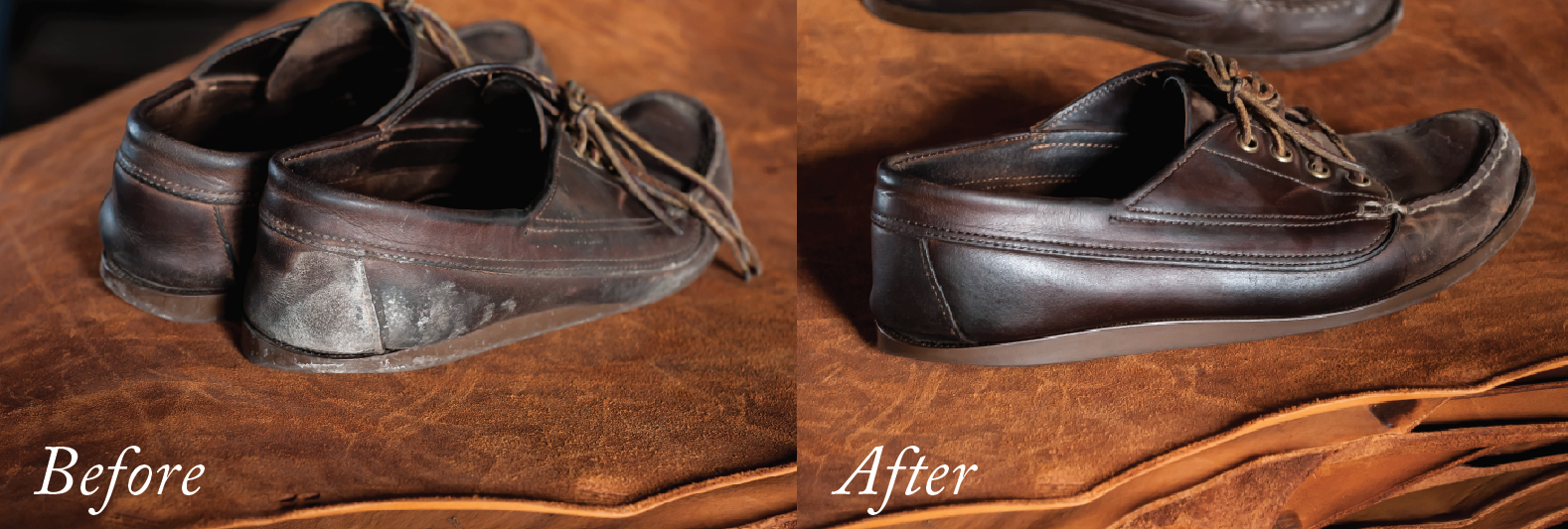 How to remove salt stains from boots