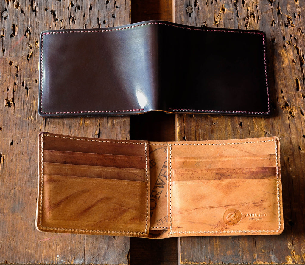 Ashland Leather Horween Shell Cordovan color 8 reverse Johnny the Fox