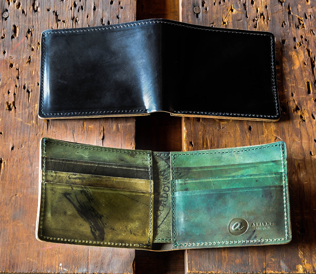 Ashland Leather Johnny the Fox Horween shell cordovan reverse
