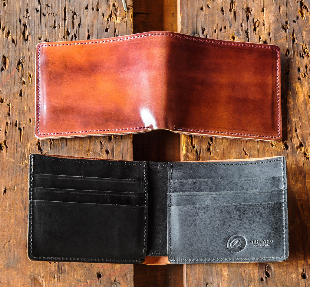 Ashland Leather Johnny the Fox black interior Horween shell cordovan
