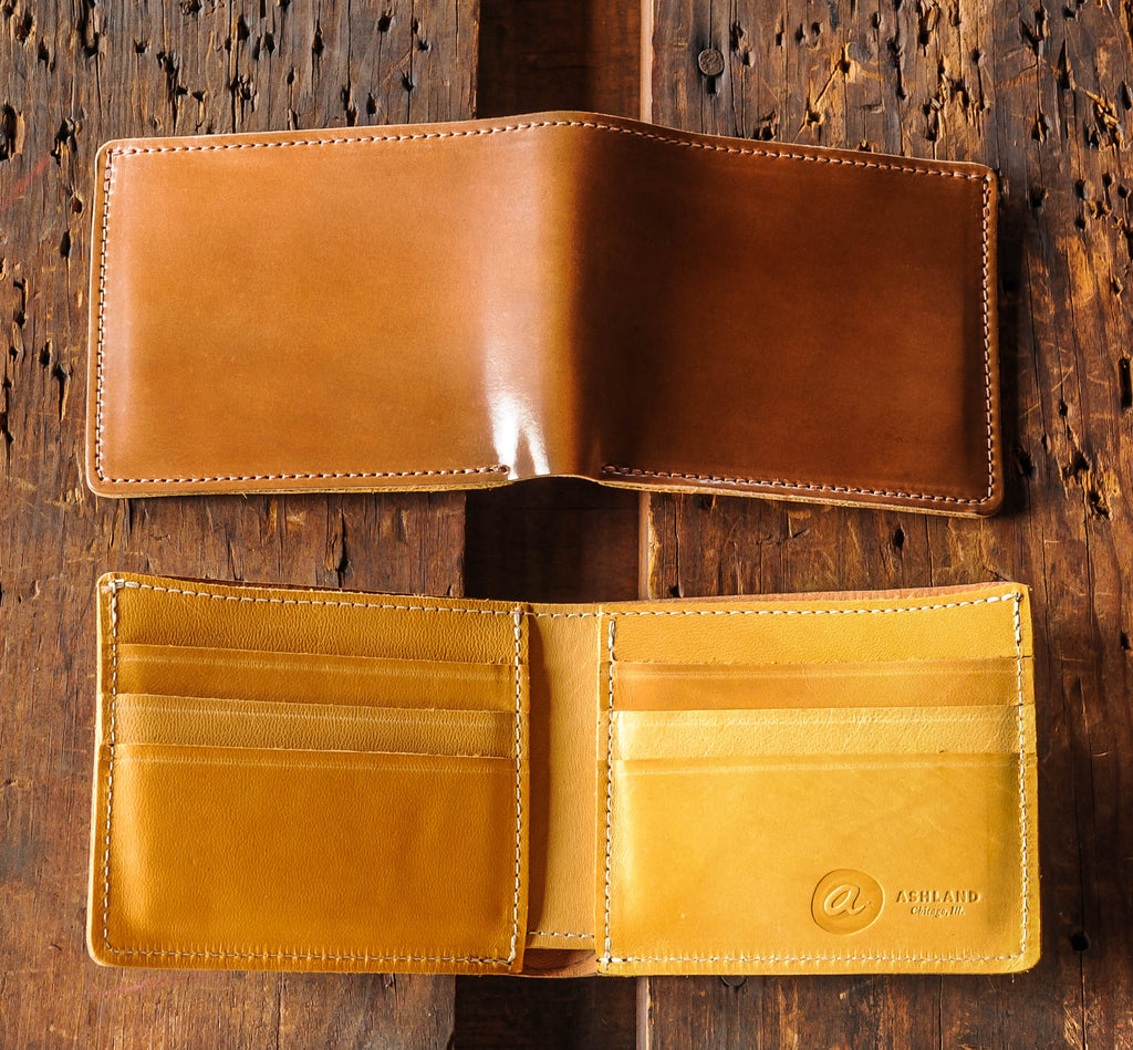 Ashland Leather moc interior Johnny the Fox whiskey horween shell cordovan
