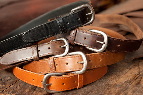 Ashland Bucktown Belt - Chromexcel & Veg-Tan - Ashland Leather Horween Leather Wallet
