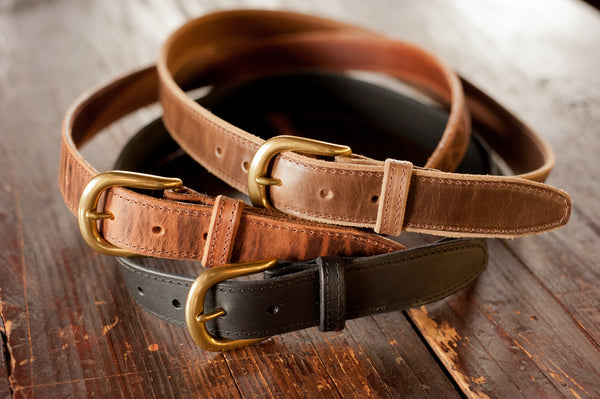 Ashland Bucktown Belt - Chromexcel & Veg-Tan