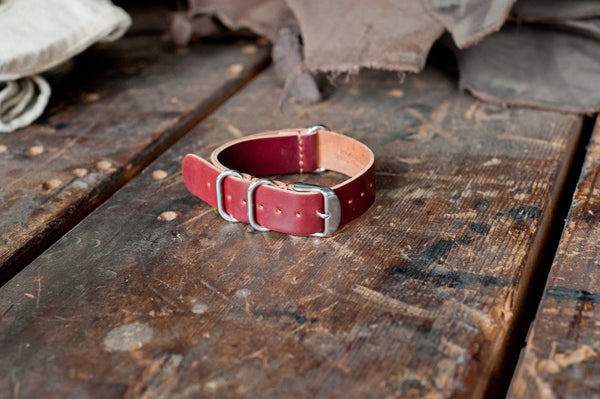 NATO Watch Strap - Shell Cordovan - Ashland Leather Horween Leather Wallet