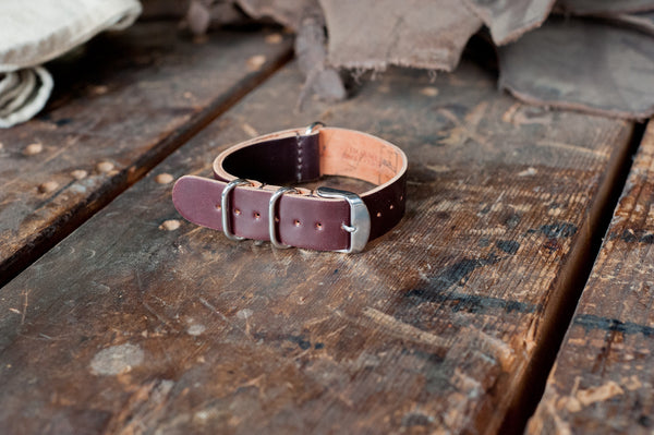 NATO Watch Strap - Shell Cordovan