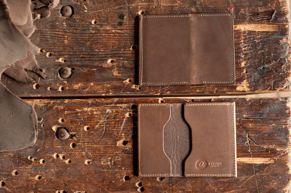 "Louis ""Little New York"" - Chromexcel Front Pocket Wallet - Ashland Leather Horween Leather Wallet"