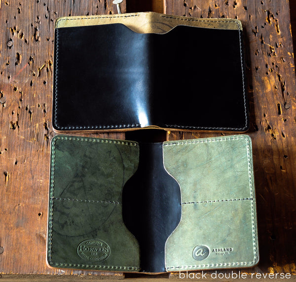 Fat Herbie - Shell Cordovan Reverse - Ashland Leather Horween Leather Wallet
