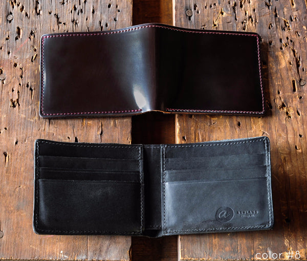 Johnny the Fox - Shell Cordovan Bifold Wallet - Ashland Leather Horween Leather Wallet