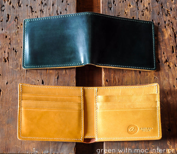 Johnny the Fox - LIMITED Shell Cordovan Bifold Wallet - Ashland Leather Horween Leather Wallet