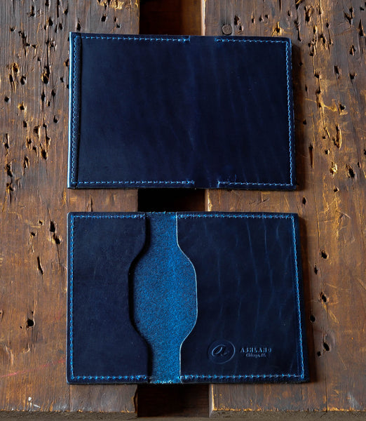 "Louis ""Little New York"" - Chromexcel Front Pocket Wallet"