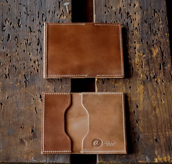 "Louis ""Little New York"" - Shell Cordovan Front Pocket Wallet"