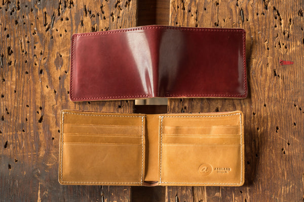 Johnny the Fox - LIMITED Shell Cordovan Bifold Wallet