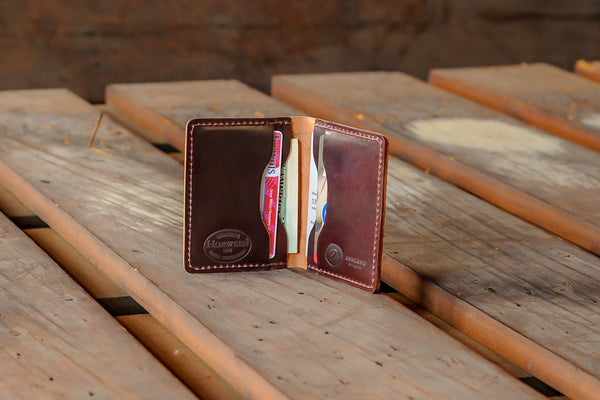 Shell Cordovan Card Holder - Color #8