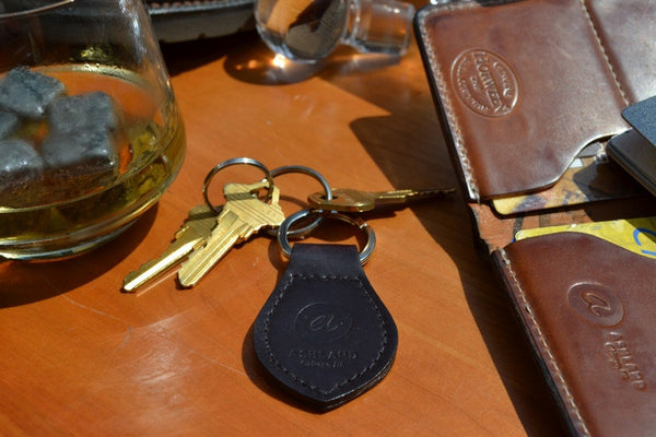 Chicago Outfit Insignia - Shell Cordovan Key Fob