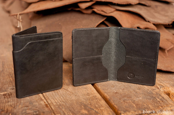 Fat Herbie - Chromexcel & Veg-Tan Bifold Wallets - Ashland Leather Horween Leather Wallet