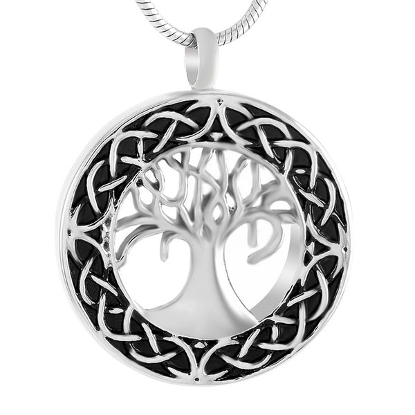 Celtic Tree Of Life Urn Necklace Cremation Jewelry