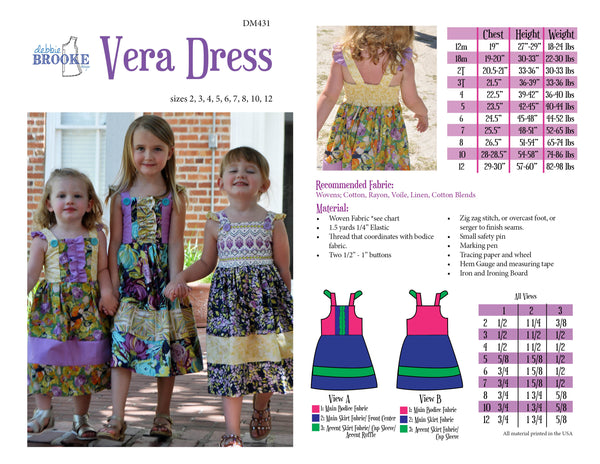 Vera Dress DIGITAL PDF