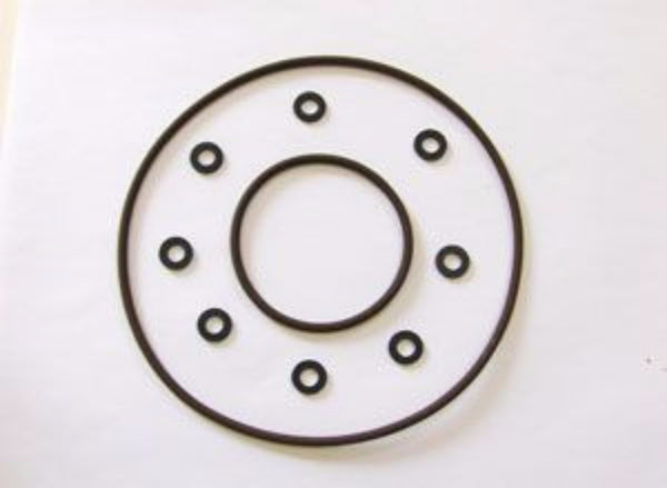 Kit, O-Ring, HPI front plate, washers inclusive