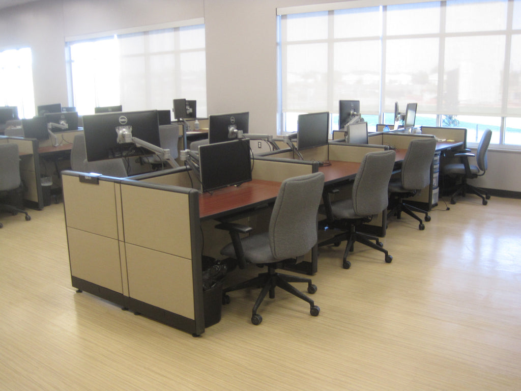 Touch-down Stations at Office Furniture Connection