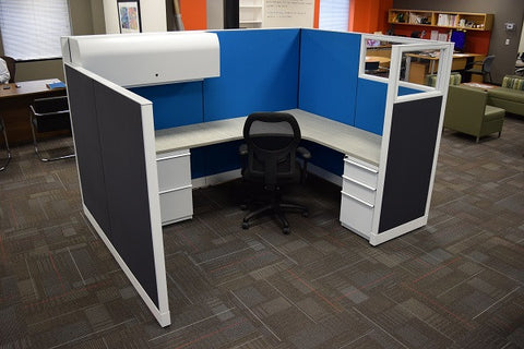 Example: Knoll Morrison 8.5 x 6.5 Cubicle