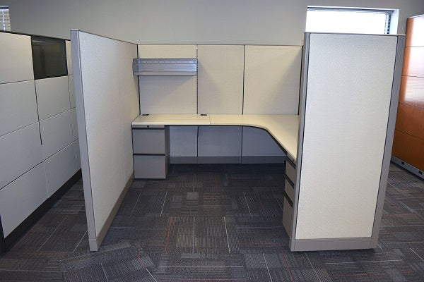 As is: Knoll Morrison 7x7 Cubicles 64H