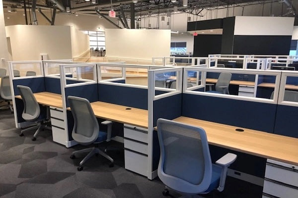 Knoll - Used & Re manufactured Morrison Benching Stations