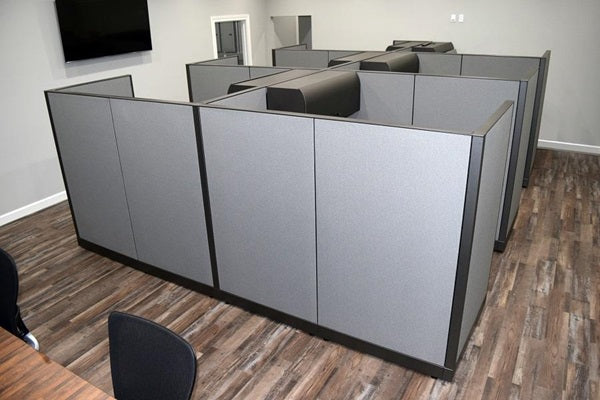 "Knoll Morrison Cubicle Re manufactured 6'x6'x64""H"