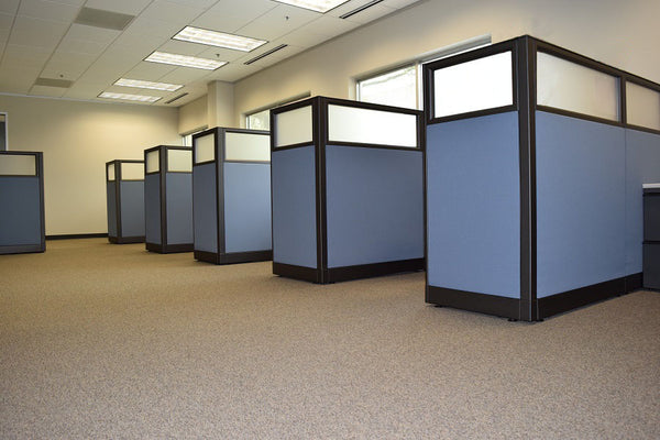 Re-manufactured Knoll Morrison Cubicles w/glass