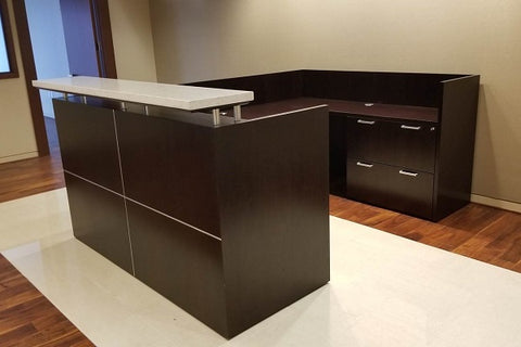 Used Knoll Autostrada Reception Station with Marble