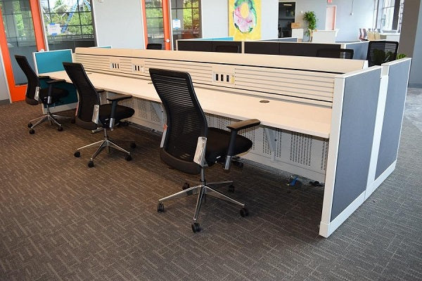 Knoll - Used & Re manufactured Currents/Morrison Benching Stations