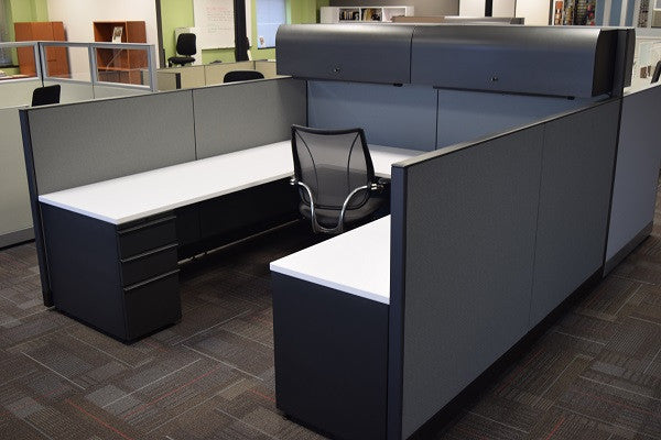 Knoll Morrison High-low 8'x8' Cubicle