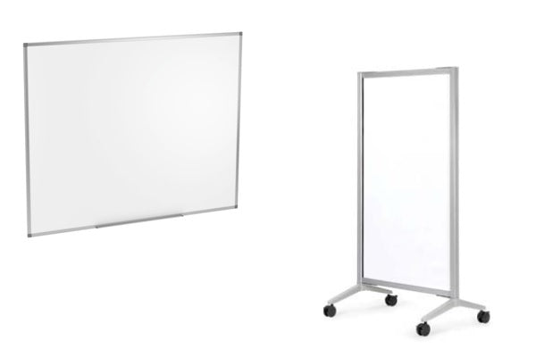 Wall Hung & Mobile Magnetic Marker Boards