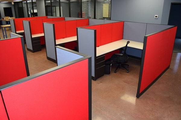 "Knoll Morrison Cubicle Re manufactured 6'x8'x56""H"