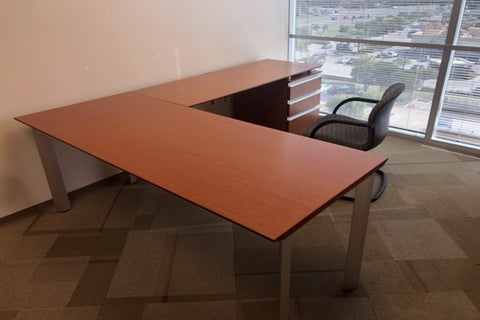 Used Knoll Autostrada L Shape Private Office