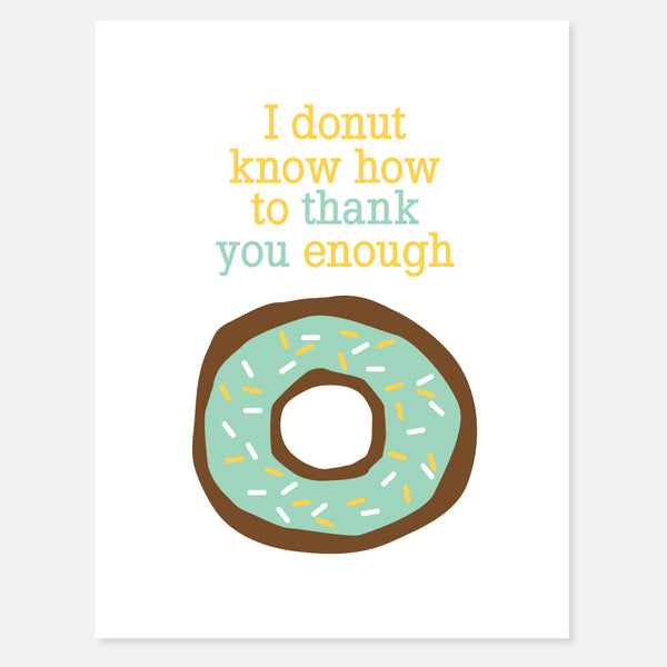 Donut Thank You