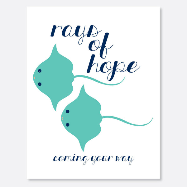 Rays of Hope Card