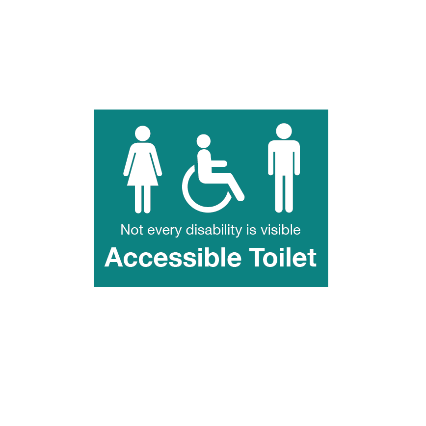 Accessible Toilet Signage