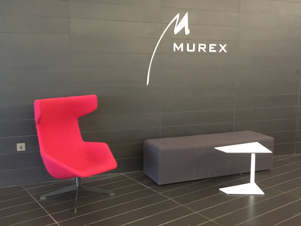 Reception Signs at Murex